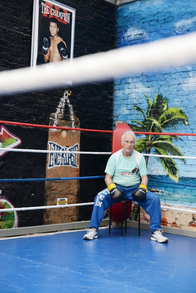Bernd jacobitz boxer trainer Meister