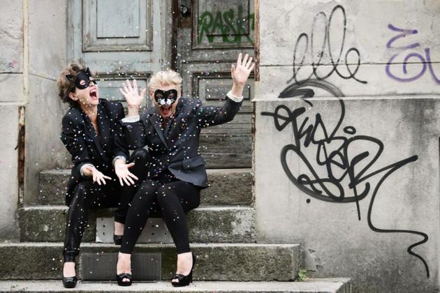 lisa und brigitte log, berlin 2014